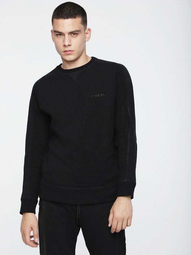 Diesel - S-TINA, Opaque Black - Sweaters - Image 1