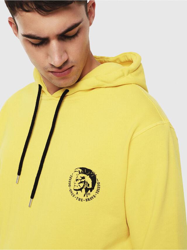 Diesel - UMLT-BRANDON, Yellow - Sweaters - Image 3