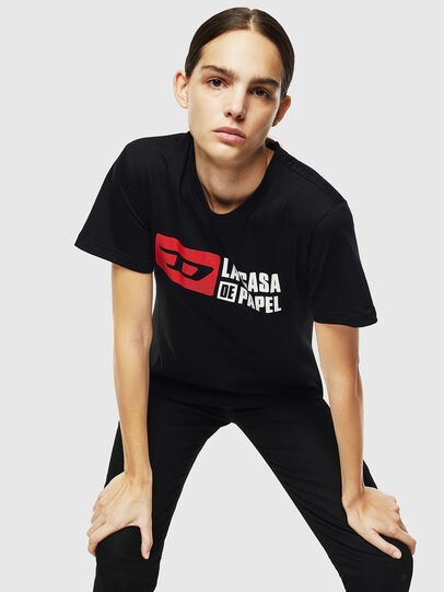 Diesel - LCP-T-DIEGO-CASA, Black - T-Shirts - Image 2