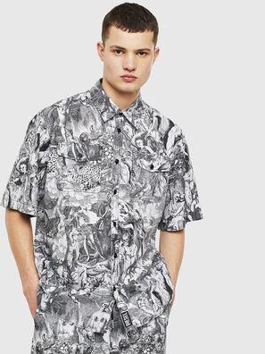 S-WED-KAOS, Black/White - Shirts