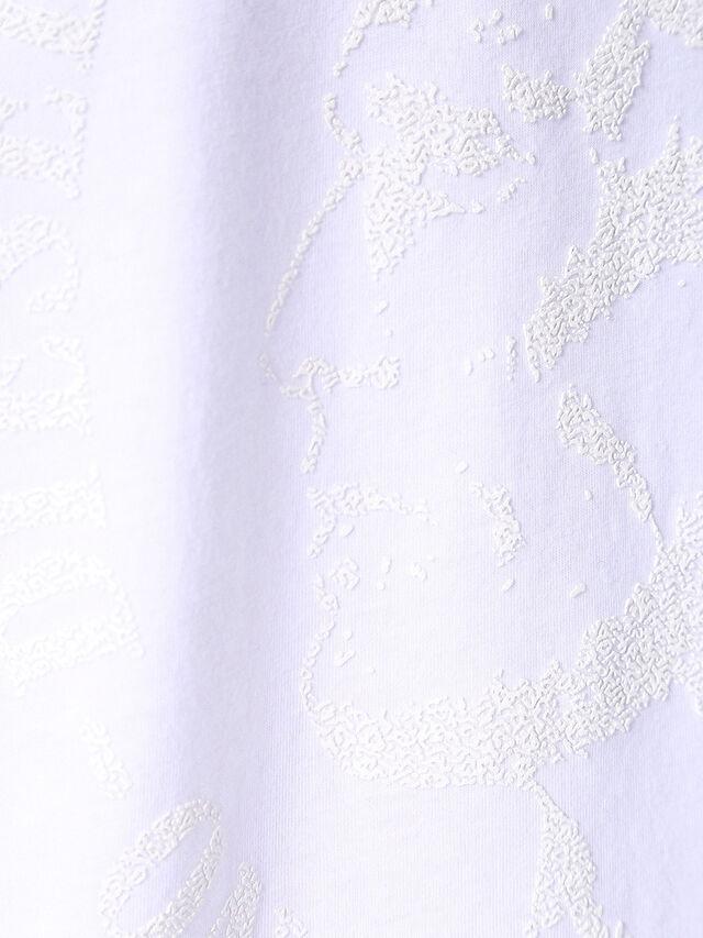 T-JOE-SQ, White