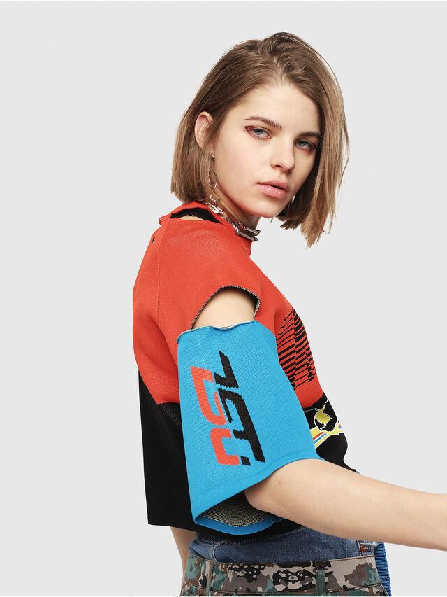 Diesel - M-DOIT, Multicolor - Knitwear - Image 3