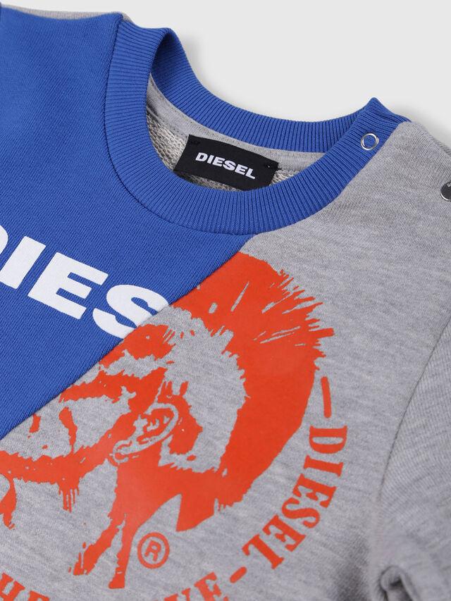 Diesel - SVETTEB, Grey/Blue - Sweaters - Image 3