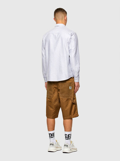 Diesel - S-JAMES-A, Blue/White - Shirts - Image 6