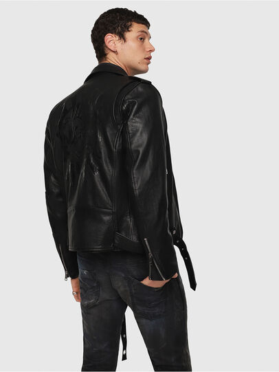 Diesel - CL-L-KIOV,  - Leather jackets - Image 2