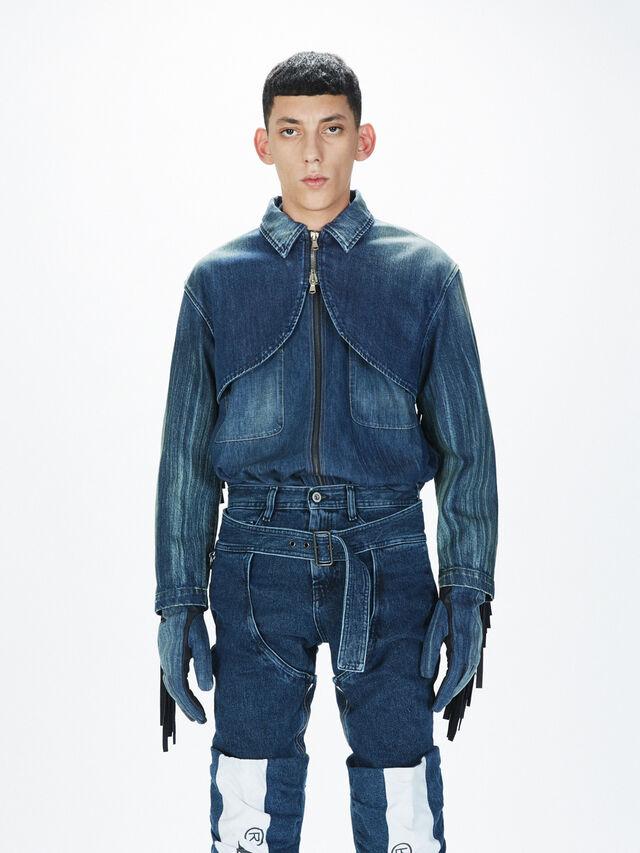 Diesel - SOGLV01-KIT, Blue Jeans - Gloves - Image 3