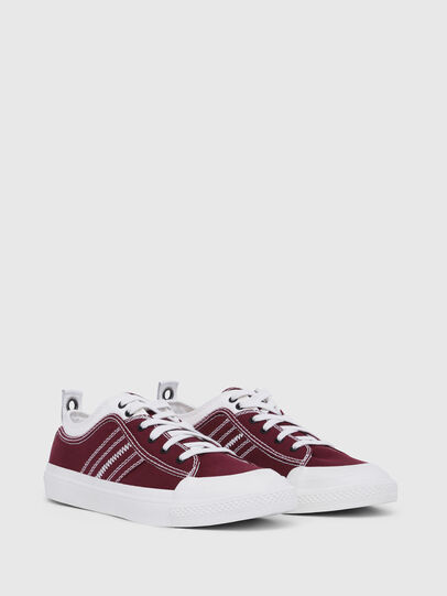 Diesel - S-ASTICO LOW LACE, Burgundy - Sneakers - Image 2