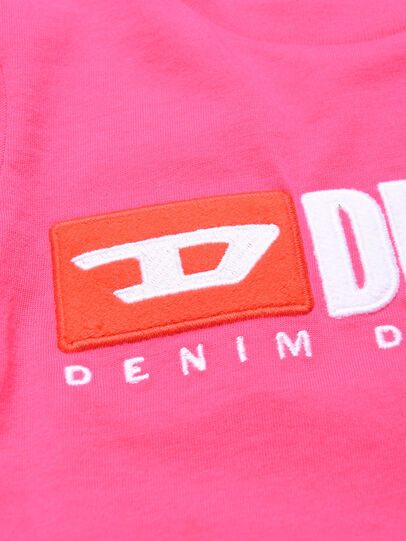 Diesel - TJUSTDIVISIONB ML, Hot pink - T-shirts and Tops - Image 3