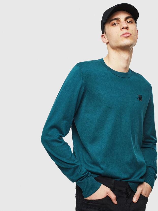 K-FREEX, Dark Green - Knitwear