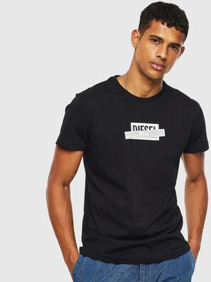 T-DIEGO-S7, Black - T-Shirts