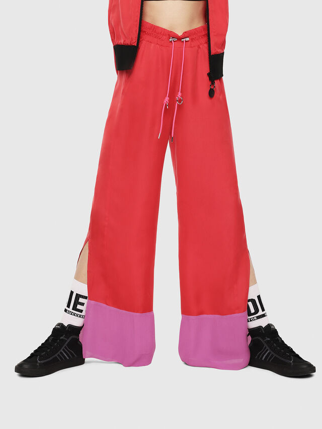 Diesel - P-LILLY-A, Coral Rose - Pants - Image 1