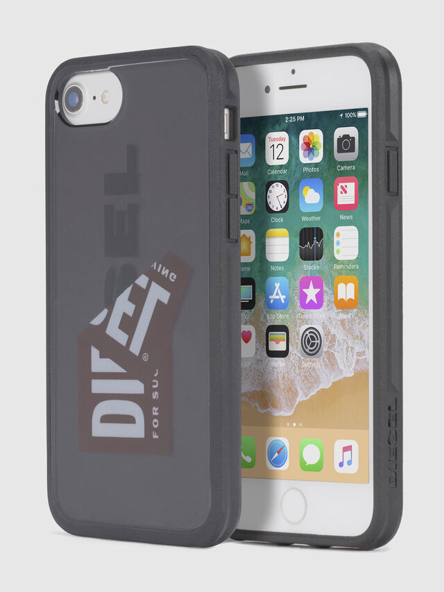 Diesel STICKER IPHONE 8 PLUS/7 PLUS/6s PLUS/6 PLUS CASE, Black - Cases - Image 1