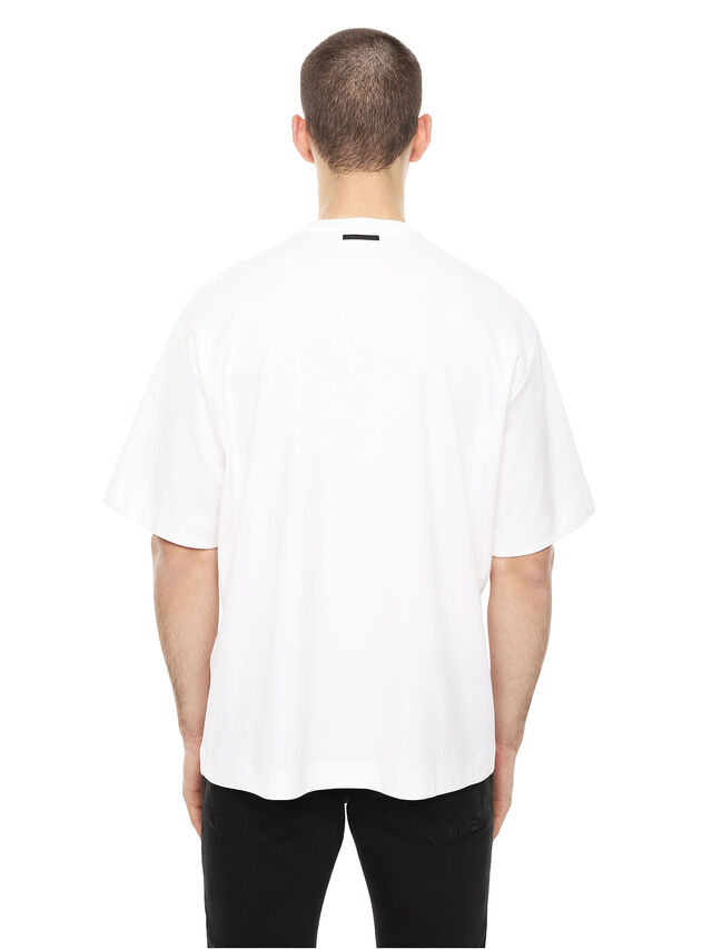 Diesel - TEORIA-FRICCARMY, White - T-Shirts - Image 2