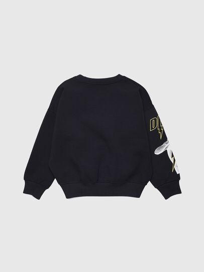 Diesel - SFEMS, Black - Sweaters - Image 2
