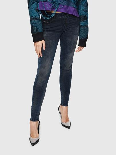 Diesel - Slandy 0091X, Dark Blue - Jeans - Image 1