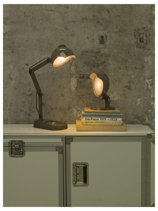 Diesel - DUII TAVOLO, Green/Grey - Table Lighting - Image 4