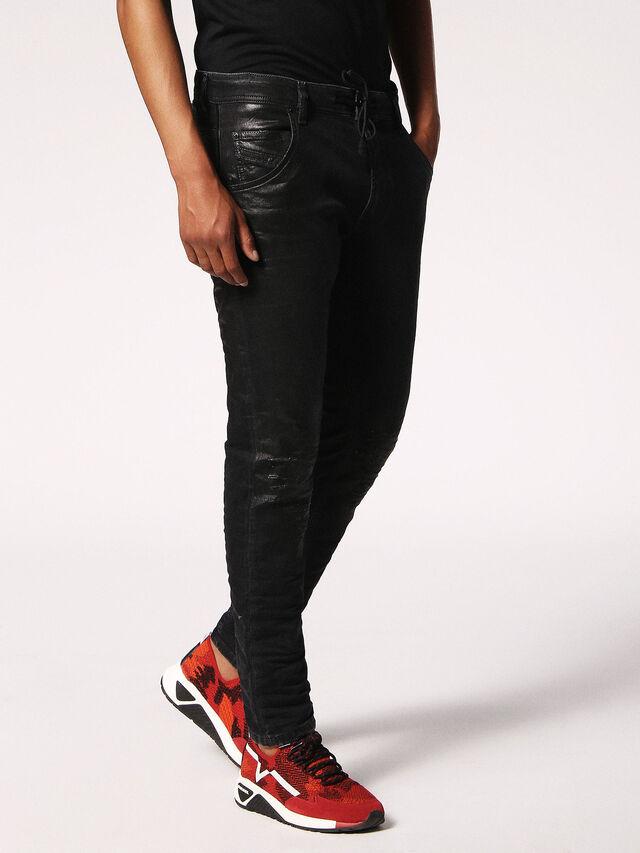 KROOLEY CB JOGGJEANS 084JB, Black Jeans