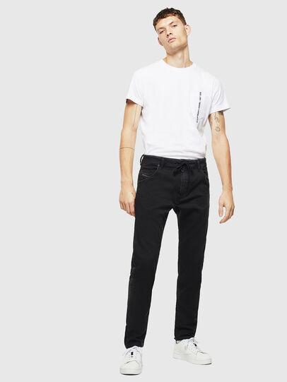 Diesel - Krooley JoggJeans 0687Z, Black/Dark grey - Jeans - Image 6
