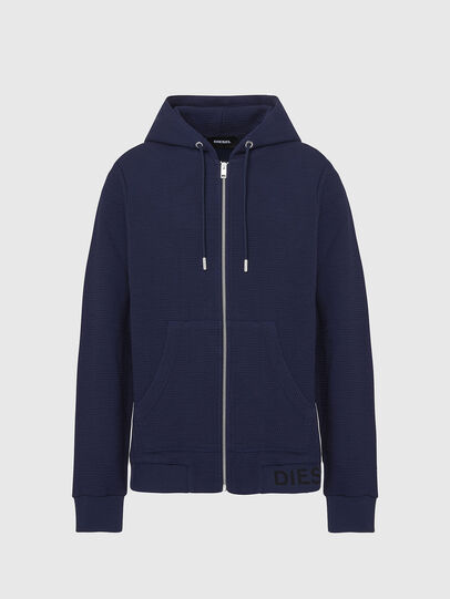Diesel - S-ELECTRUM, Night Blue - Sweaters - Image 1