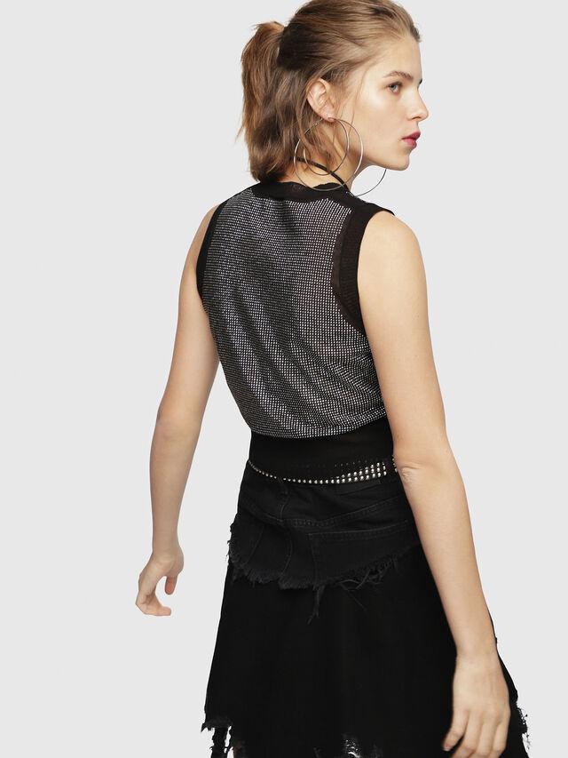 Diesel - M-SETT, Black - Knitwear - Image 2