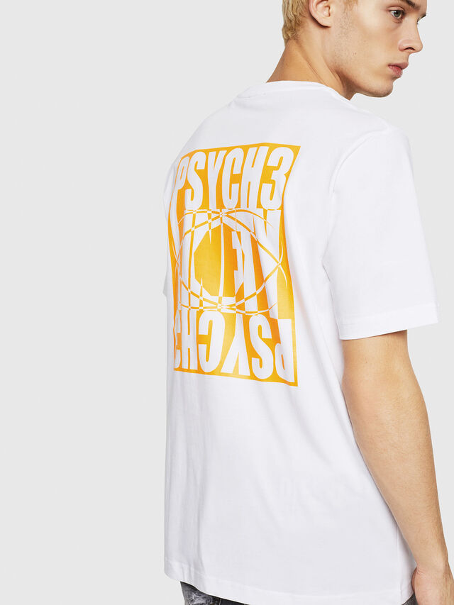 Diesel - T-JUST-Y20, White - T-Shirts - Image 2