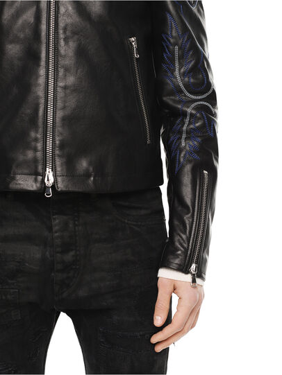 Diesel - LITEX,  - Leather jackets - Image 5