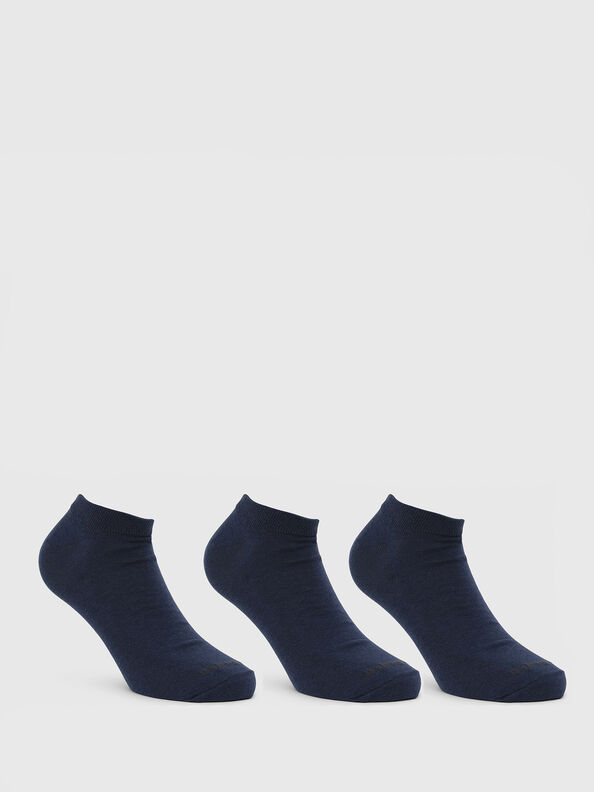 SKM-GOST-THREEPACK, Blue - Low-cut socks