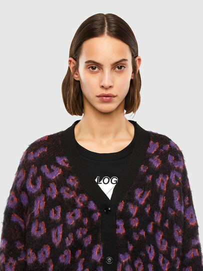 Diesel - M-REBECCA, Violet/Black - Knitwear - Image 3
