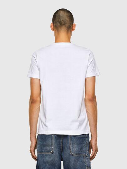 Diesel - T-DIEGOS-N33, White - T-Shirts - Image 2