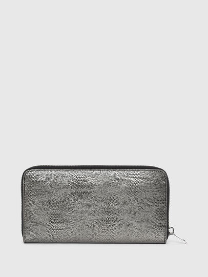 Diesel - 24 ZIP, Grey - Zip-Round Wallets - Image 2