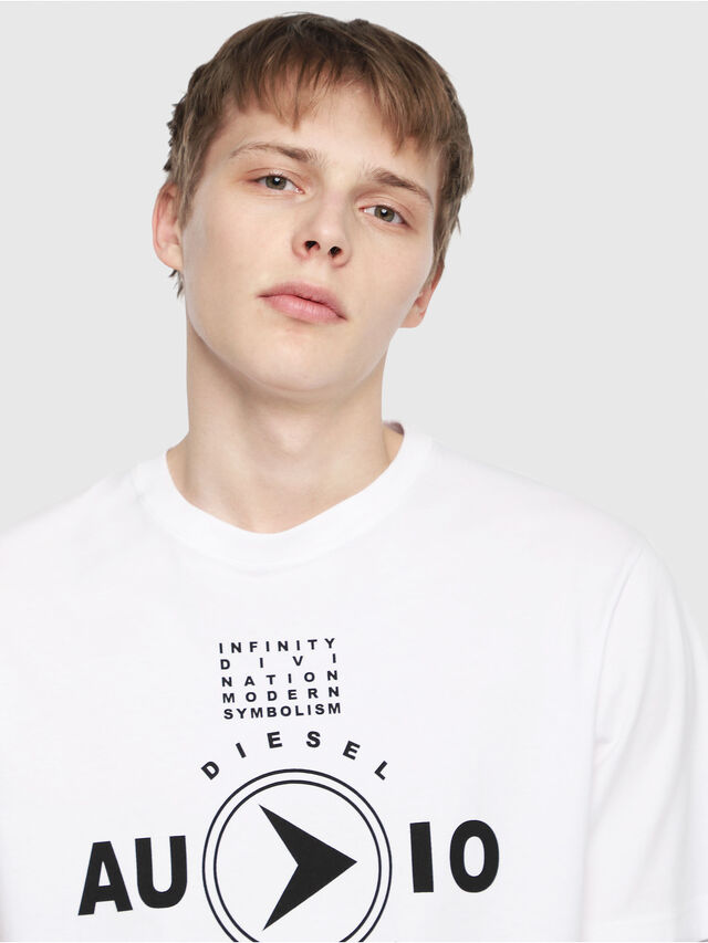 Diesel - T-JUST-Y2, White - T-Shirts - Image 3