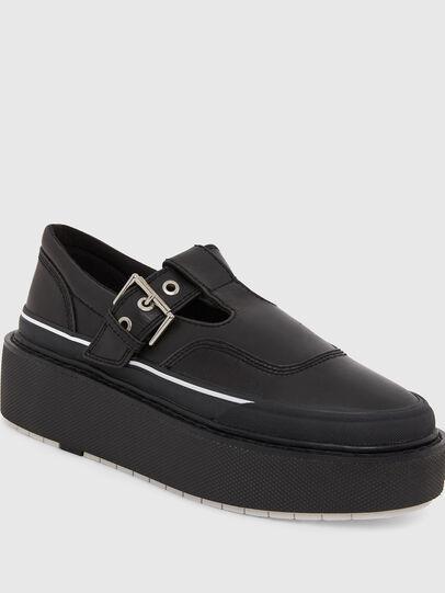 Diesel - H-SCIROCCO BA, Black - Sneakers - Image 4