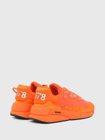 Diesel - S-SERENDIPITY LC, Orange - Sneakers - Image 3