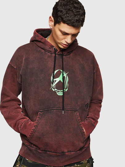 Diesel - S-ALBY-ACID, Bordeaux - Sweaters - Image 1