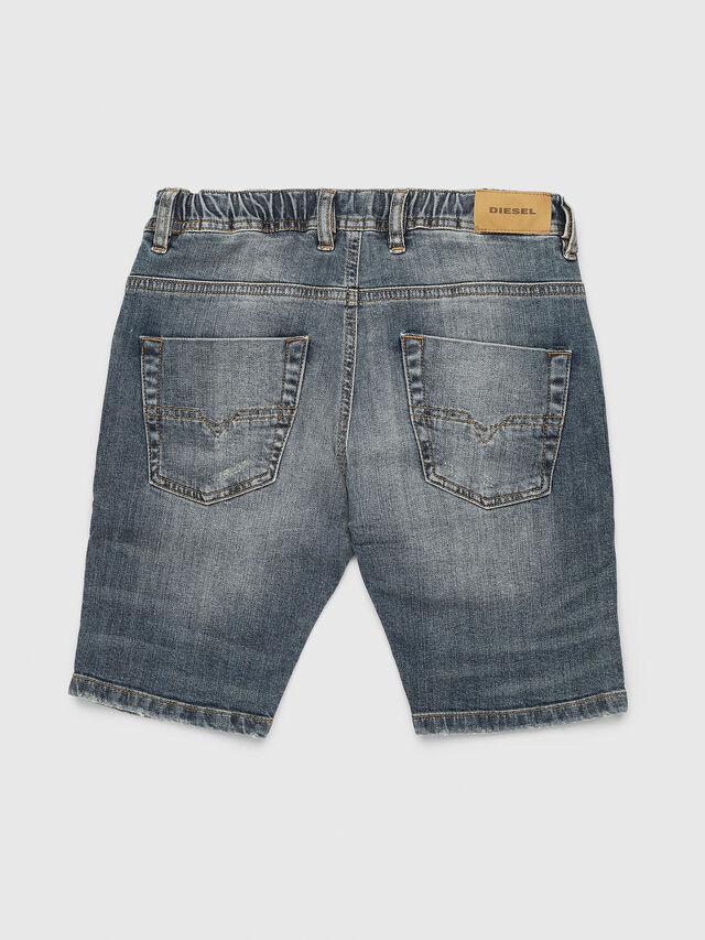 Diesel - KROOLEY-J SH JOGGJEANS, Blue Jeans - Shorts - Image 2