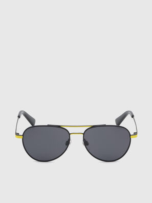 DL0291, Black/Yellow - Kid Eyewear