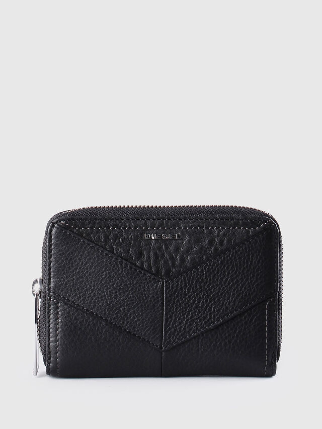 Diesel JADDAA, Black Leather - Small Wallets - Image 1