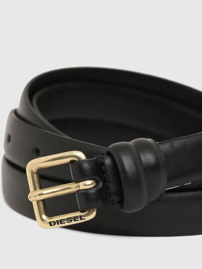 Diesel - B-DOUBLEWRAP, Black - Belts - Image 2