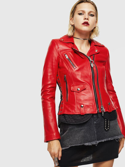 Diesel - L-CARAMA,  - Leather jackets - Image 1