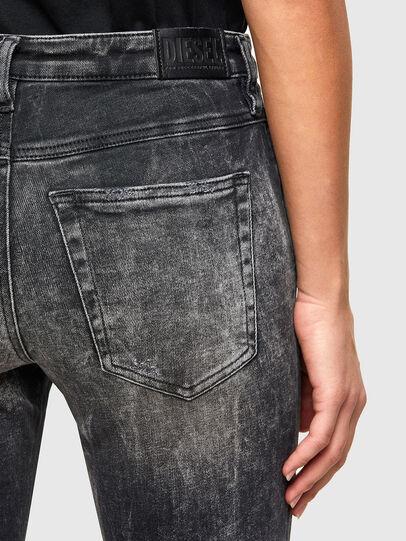 Diesel - Babhila 009PX, Black/Dark grey - Jeans - Image 5