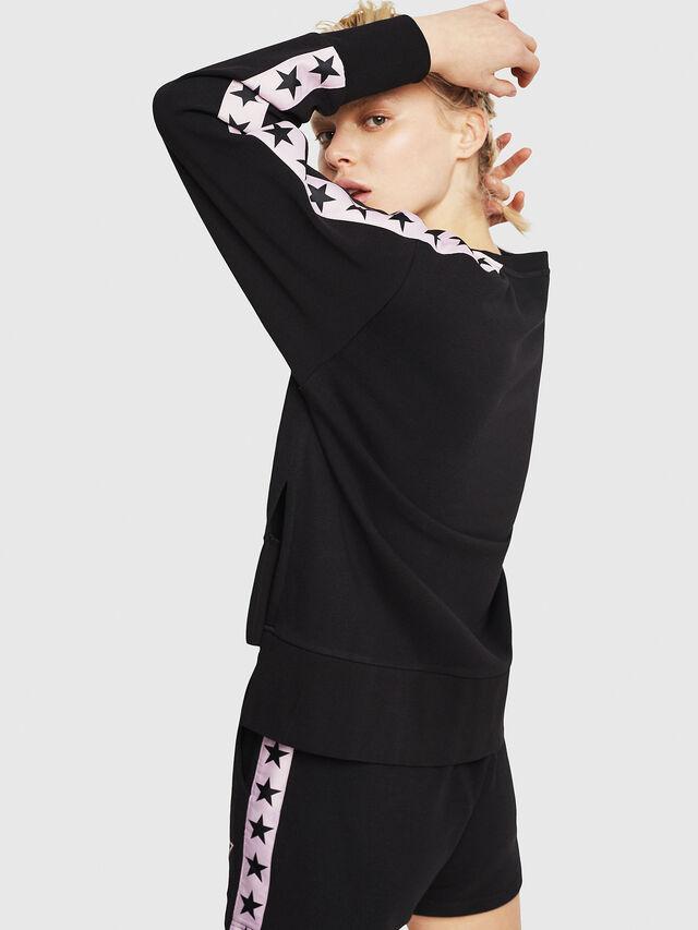 Diesel - UFLT-LYRIA, Black/Pink - Sweaters - Image 2