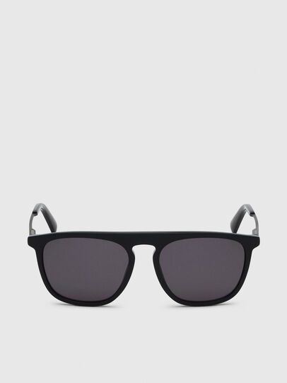 Diesel - DL0297, Black/Yellow - Sunglasses - Image 1