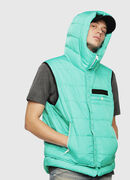 W-SUN-REV-SLESS, Water Green - Winter Jackets
