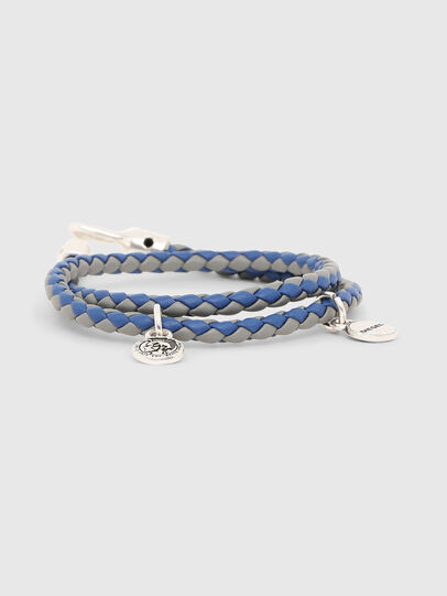 Diesel - ALUCY BRACELET 2, Grey/Blue - Bijoux and Gadgets - Image 1