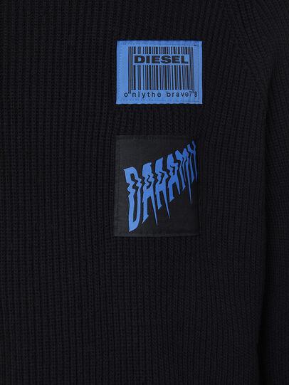 Diesel - K-SIMON, Black - Knitwear - Image 3
