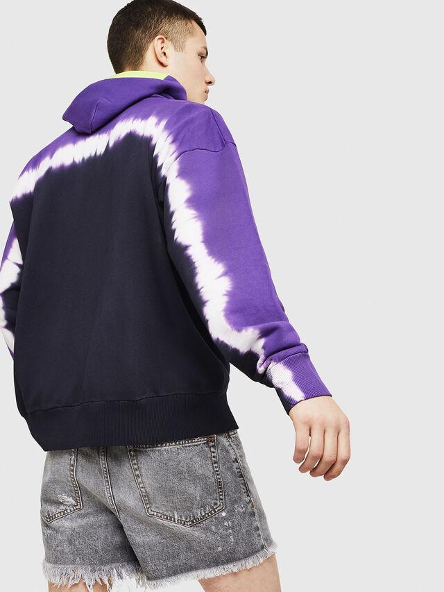 Diesel - S-ALBY-DEEP, Black/Violet - Sweaters - Image 2