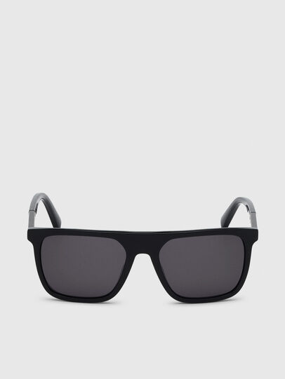 Diesel - DL0299, Black/Grey - Sunglasses - Image 1