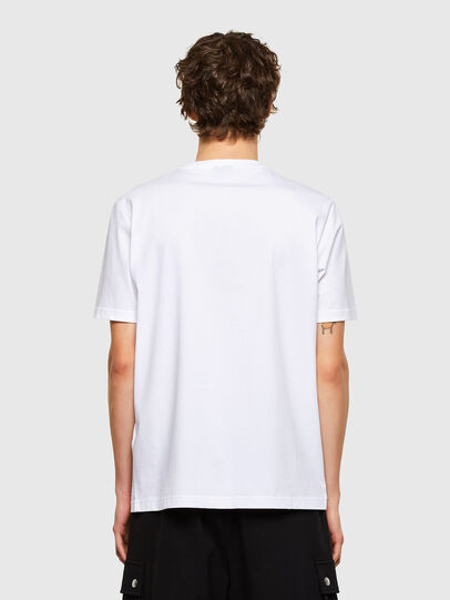 Diesel - T-JUST-E11, White - T-Shirts - Image 2