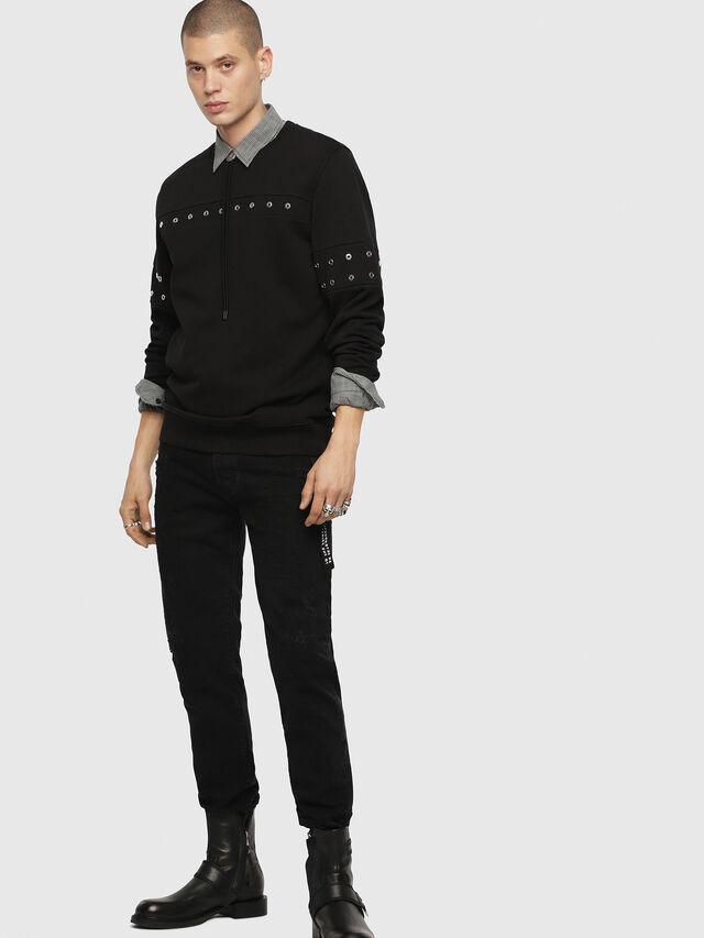 Diesel - S-GIR-XMAS, Black - Sweaters - Image 3