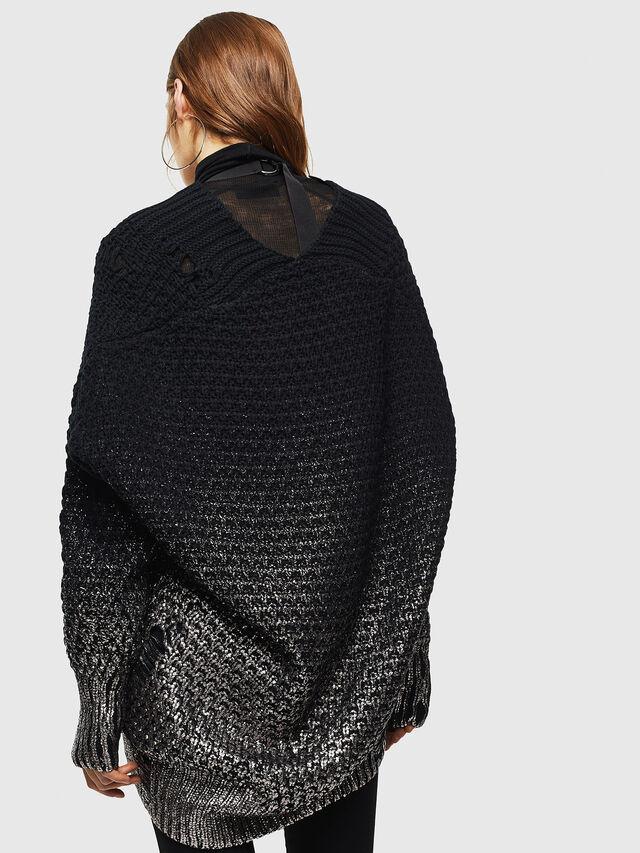 Diesel - M-MIKO, Black/Silver - Knitwear - Image 2